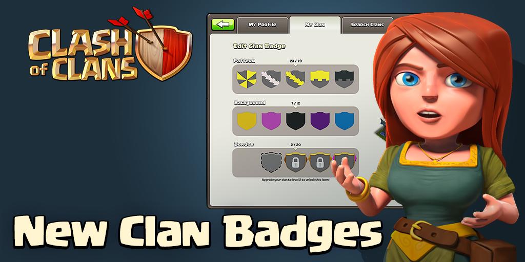 Nouveaux badges personnalisables