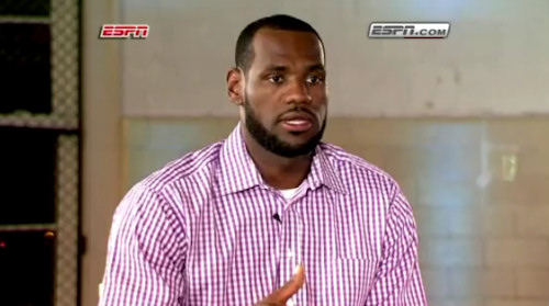 Lebron James ESPN