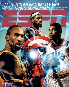 ESPN Marvel/NBA
